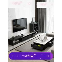 【支持礼品卡】大理石茶几电视柜组合套装现代简约小户型客厅北欧伸缩电视机柜3ph