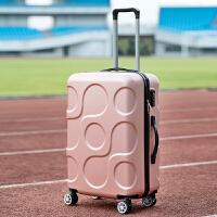 韩版小行李箱女拉杆箱20寸登机箱万向轮24寸密码箱男皮箱子小清新