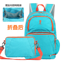 新安代妈咪包双肩 多功能大容量待产包折叠包婴儿用品外出背包