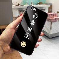 黑色好事发生iPhone6手机壳卡通彩绘苹果6splus保护套女7个性创意8情侣款XS MAX硬壳防 6/6s 黑底好