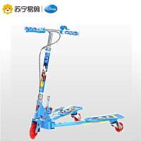 迪士尼蛙式滑板车儿童2-8岁小孩剪刀车双脚三轮滑板车宝宝摇摆车