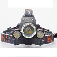 3000流明强光充电头灯 探洞户外远射探照灯手电筒野钓鱼矿灯