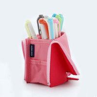 日本KOKUYO国誉笔袋男高中生中学生笔袋多功能大容量文具袋笔筒式铅笔盒创意小清新收纳包化妆包WSG-PC12