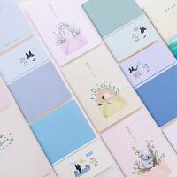 日韩可爱32k方格笔记本学生日记本子软面抄记事本儿童作文作业本