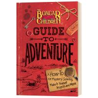 棚车少年探险指南 英文原版 The Boxcar Children Guide to Adventure 英语章节桥梁