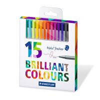 德国施德楼334 36色42色15色 填色涂鸦绘画秘密花园手账纤维勾线笔针管笔