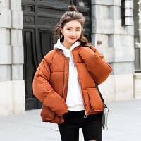 短款羽绒服女2018冬季新款韩版面包服学生棒球服棉衣外套