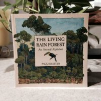 英文原版 The Living Rain Forest