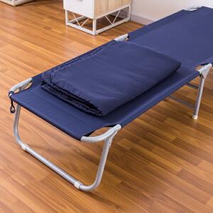 【领券满188减100】ORZ 蓝色便携办公室可折叠床单人床午睡床 简易陪护床午休床帆布床
