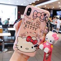 可爱猫苹果6plus手机壳卡通女款iPhone6plus软壳套苹果6s硅胶保护壳苹果6手机壳女款6s /s 4.7寸
