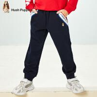 【秒杀价:79元】暇步士男童运动休闲裤春秋新款中大儿童洋气韩版运动长裤