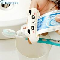 创意卡通动物牙膏挤压器 化妆品挤压器 单个装 款式随机