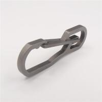 不锈钢钥匙扣战术扣户外快挂扣EDC工具多功能登山扣创意礼品挂扣