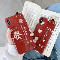 圣诞新款苹果x手机壳iphone xs max可爱保护套6/6s/7/8/plus软硅胶iphone iPhone x