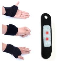 自发热运动健身护腕腱鞘远红外保暖有护膝盖护腰护颈护手腕 升级护腕 有孔 均码