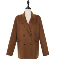 时尚秋冬短款毛呢大衣女新款韩版小个子呢绒外套学生茧型呢子大衣