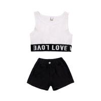 女童JAZZ韩版拼色上衣外套女孩儿童爵士服装女街舞演出服装潮秋装