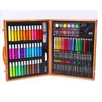 儿童绘画工具画画文具礼盒玩具套装小学生画笔蜡笔水彩笔奖礼品盒