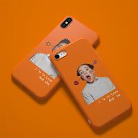 韩国ins同款情侣秀恩爱iPhone6s/7/8plus苹果XsMax全包硅胶手机壳 iPhone X(女)