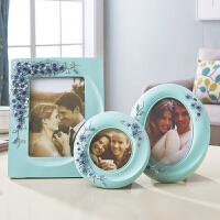 【支持礼品卡支付】创意相框摆台 欧式5寸6寸7寸照片相框树脂新居装饰结婚礼物送闺蜜