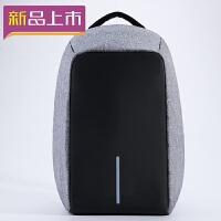 2018充电防盗背包寸男女笔记本电脑双肩包.6/寸商务旅行书包