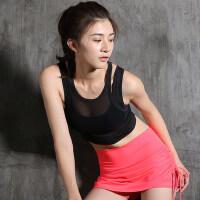 户外运动健身服女瑜伽服 健身训练跑步背心网球服运动服女套装