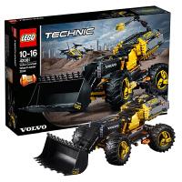 当当自营LEGO乐高Technic/机械组系列沃尔沃概念轮式装载机42081塑料积木玩具