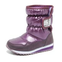 №【2019新款】冬天小朋友穿的儿童雪地靴女童靴子加绒防水男童棉靴加厚宝宝短靴