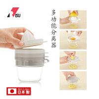 RISU日本进口多功能手动压汁机榨汁机迷你多盖蛋清分离研磨原汁器