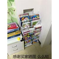 铁艺儿童书架儿童绘本架杂志柜学生架简易书报架收纳架卡通绘本架