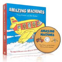 Amazing Machines (10Books+CD)神奇机器(10本书+CD)ISBN9780753440049
