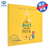 英文原版 心脏和瓶子 精装儿童绘本 Heart and the Bottle 英语故事漫画书
