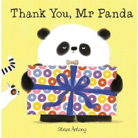 英文原版绘本 熊猫先生礼仪课堂 谢谢你,熊猫先生 Thank You, Mr Panda