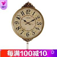 挂钟客厅个性创意时尚钟表现代简约大气时钟家用表北欧式静音壁钟品质保证 20英寸