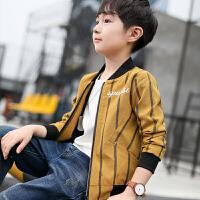 男童秋装外套休闲开衫夹克棒球服儿童中大童小孩韩版童装
