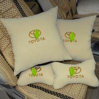 丰田rav4威驰锐志凯美瑞卡罗拉花冠头枕颈枕抱枕腰靠枕汽车四件套