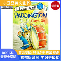 英文原版 Paddington Plays On [4-8岁]