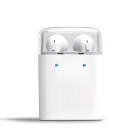 【优品】果粉蓝牙耳机双耳运动音乐车载迷你 适用于pro6 6s Pro7 plus mx6通用 官方标配