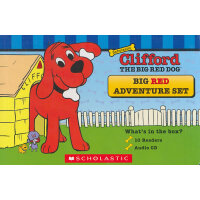 Clifford Big Red Adventure Set大红狗10本故事书套装(含CD)ISBN978054575