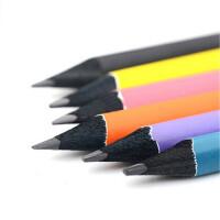 马可9008黑木三角杆铅笔儿童小学生HB书写铅笔