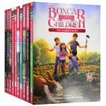 棚车少年121-130册套装英文原版 The Boxcar Children Mysteries Books 121-