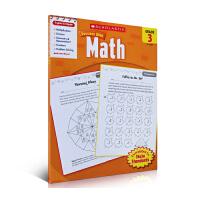 现货英文原版 Scholastic Success with Math, Grade 3 学乐必赢系列 成功英语:数学三