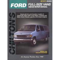 【预订】Ford Full-Size Vans, 1989-96