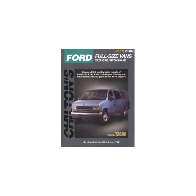 【预订】Ford Full-Size Vans, 1989-96 美国库房发货,通常付款后3-5周到货!