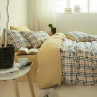 ???纯棉被套单件200x230cm2米X2.3米夏季1.5m1.8床单人双人全棉被罩