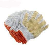 劳保手套棉纱线手套加厚绒毛棉线白手套 装修保护 搬家用手套