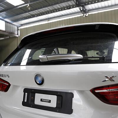 专用于宝马新x1改装 后雨刷器装饰盖 2系旅行版改装 车外装饰贴