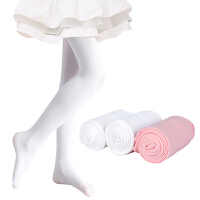 【2条装】女童连裤袜天鹅绒儿童舞蹈袜白色打底袜春夏款连裤袜