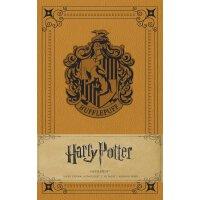 Harry Potter: Hufflepuff Hardcover Ruled Journal 英文原版 哈利波特: