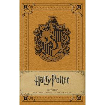 Harry Potter: Hufflepuff Hardcover Ruled Journal 英文原版 哈利波特:赫奇帕奇獾院笔记本